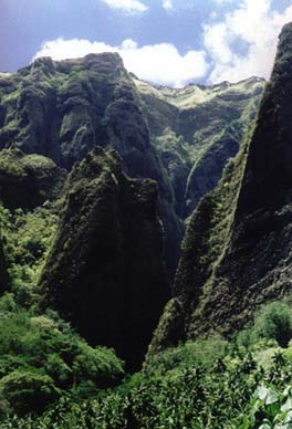 Marquesas islands : landscape